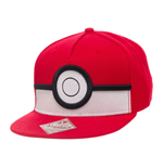 Pokemon casquette hip hop Snap Back 3D Poke Ball