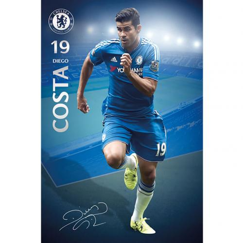 Poster Chelsea FC Diego Costa 35