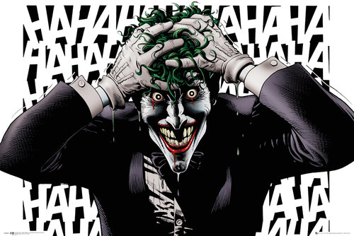 Poster DC Comics Killing Joke