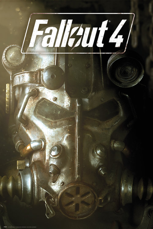 Poster Fallout 4 - Mask