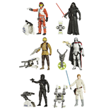 Star Wars assortiment figurines 2015 Jungle/Space Wave 1 10 cm (12)