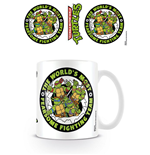 Les Tortues ninja mug Fearsome Fighting