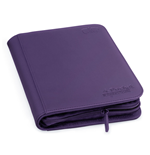 Ultimate Guard 4-Pocket ZipFolio XenoSkin Violet