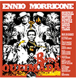 Vinyle Ennio Morricone - Queimada (Clear & Orange Mixed Vinyl+Poster)