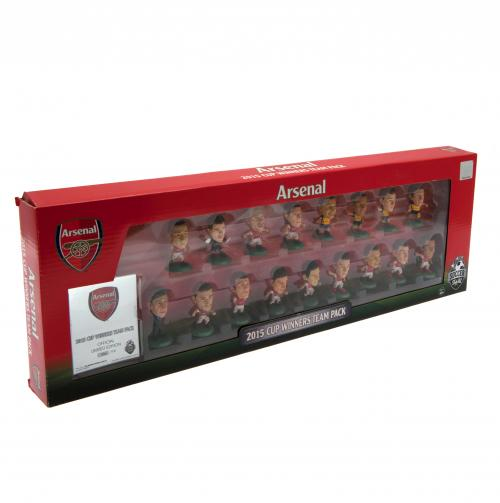Coffret Figurines SoccerStarz Cup Winners Arsenal FC