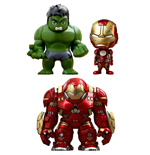 Avengers L'Ère d'Ultron serie 1.5 pack figurines Cosbaby (S) 14 cm