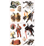 Star Wars Episode VII stickers Characters