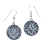 Harry Potter boucles d´oreille plaqué argent Ministry of Magic