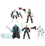 Star Wars Hero Mashers 2015 pack 5 figurines Episode VI