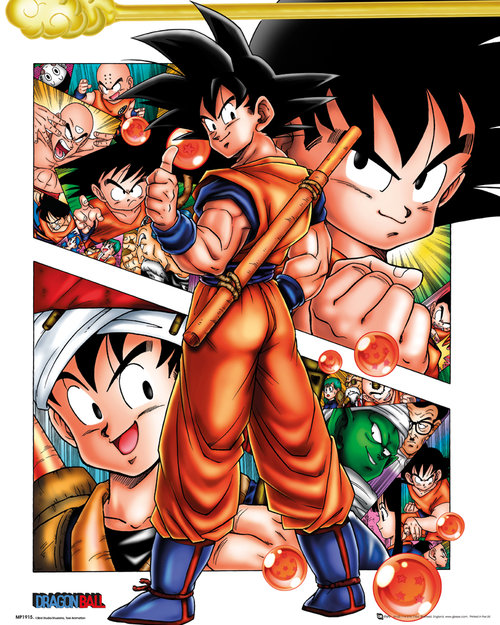 Poster Dragonball Collage