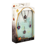 Bracelet en Acier + 4 Charms Descendants