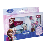 Ensemble Bracelet+2 Barrettes La Reine des Neiges (Frozen)