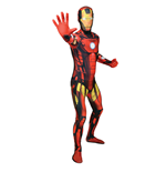 Costume Marvel Comics Iron Man Adulte Unisexe, Taille XXL