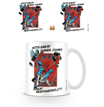 Marvel Comics mug Great Responsibility