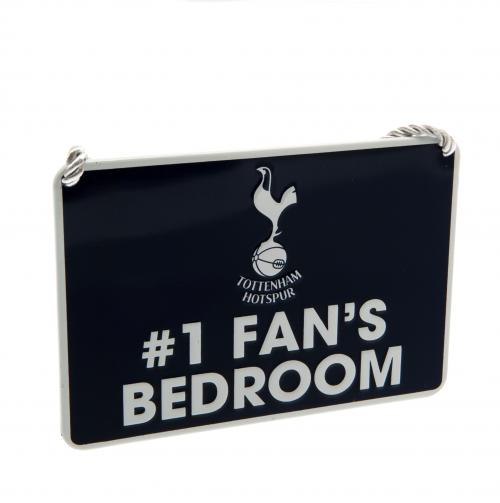 Plaque de Porte Tottenham Hotspur FC - No. 1 Fan