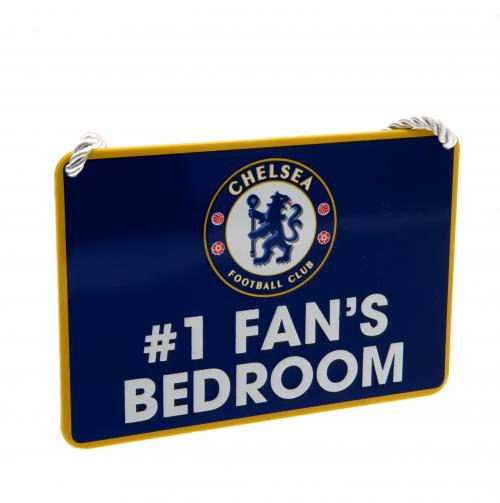 Plaque de Porte Chelsea FC - No1 Fan