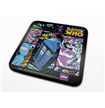 Doctor Who pack 6 sous-verres Comic Strip