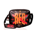 Sac à Bandoulière Star Wars VII Le Réveil de la Force 'Red Squad' X-Wing Starfughters Noir