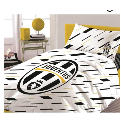 housse de couette juventus de turin 1 place pour seulement 55 00 sur merchandisingplaza. Black Bedroom Furniture Sets. Home Design Ideas