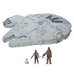 Star Wars Episode VII véhicule avec figurines 2015 Battle Action Millennium Falcon
