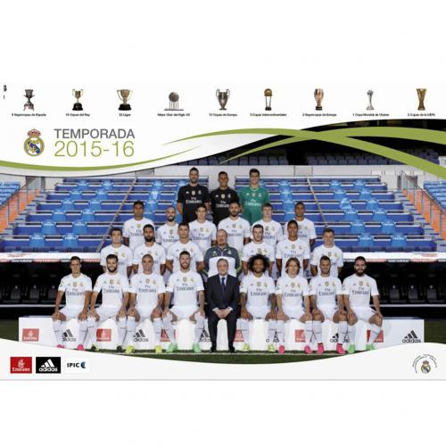 Poster Real Madrid Équipe 66