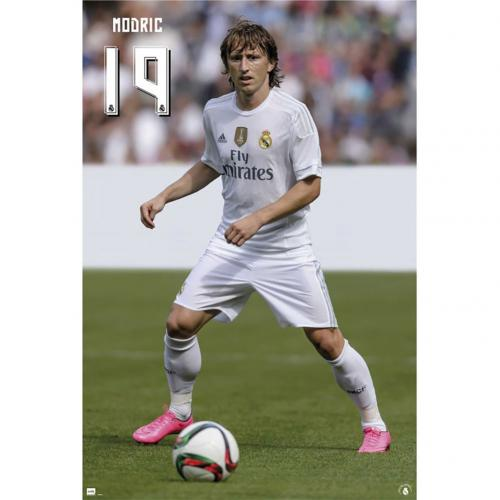 Poster Real Madrid Modric 52
