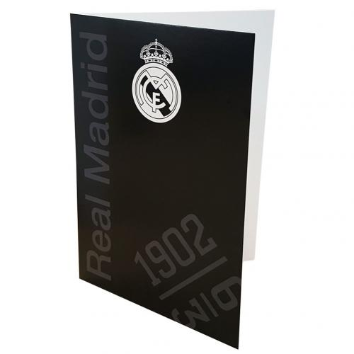 Carte de Voeux Real Madrid