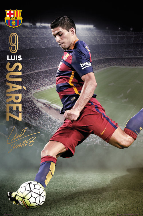 Poster FC Barcelone 180831