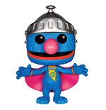 1 rue Sésame Figurine POP! TV Vinyl Super Grover 9 cm