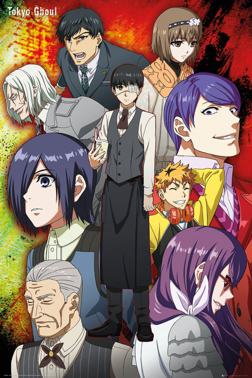 Poster Tokyo Ghoul 181273