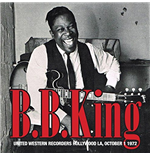 Vinyle B.B. King - United Western Recorders Hollywood La, October 1 1972 (2 Lp)