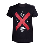 T-shirt pour Hommes ASSASSIN'S CREED Syndicate  Rooks Red Cross Edition, Taille XL