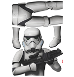 Star Wars stickers Stormtrooper 100 x 70 cm