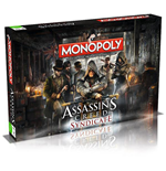 Assassin´s Creed Syndicate jeu de plateau Monopoly *ANGLAIS*