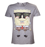 T-shirt Bob l'Éponge - Grey Sunglasses