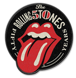 Écusson The Rolling Stones - 50th Anniversary