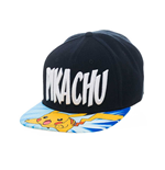 Pokemon casquette hip hop Snap Back Lightning Pikachu