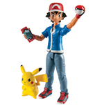 Pokemon pack 2 figurines Ash & Pikachu