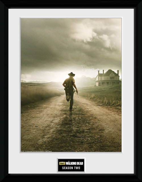 Poster Encadré The Walking Dead Saison 2