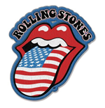Écusson The Rolling Stones - US Tongue
