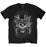 T-shirt Guns N' Roses: Faded Skull