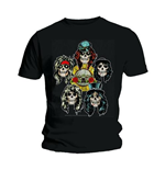 T-shirt Guns N' Roses: Vintage Heads
