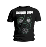 T-shirt Green Day: Green Mask
