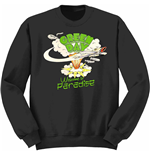 Sweatshirt Green Day: Welcome to Paradise