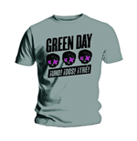 T-shirt Green Day: Three Heads Better Than One