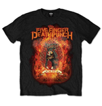T-shirt Five Finger Death Punch: Burn in Sin