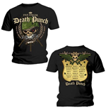 T-shirt Five Finger Death Punch: Warhead
