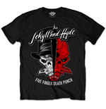T-shirt Five Finger Death Punch: Jekyll & Hyde