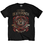 T-shirt Five Finger Death Punch: Badge of honour