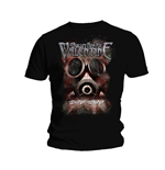 T-shirt Bullet For My Valentine: Temper Temper Gas Mask